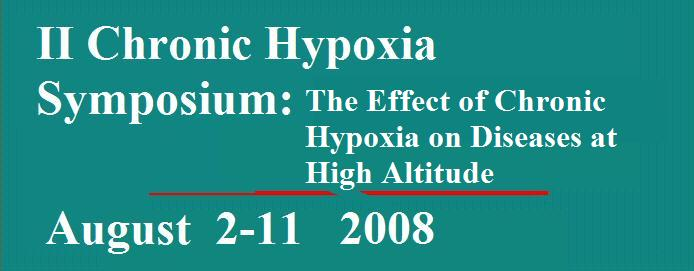 II Chronic Hypoxia Symposium